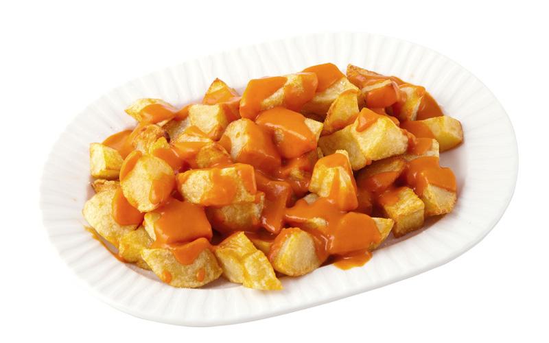 Restaurante Pirámides Ración patatas bravas