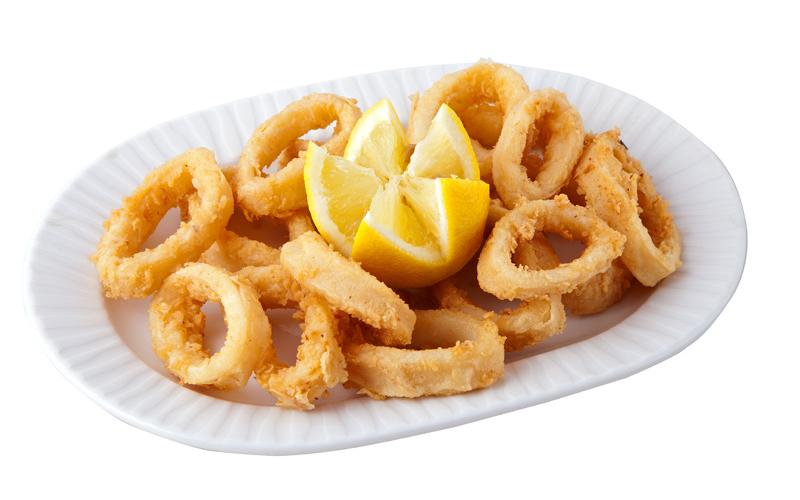 Restaurante Pirámides Ración calamares