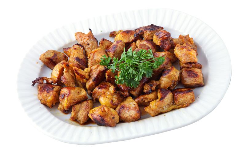 Restaurante Pirámides Ración carne adobada