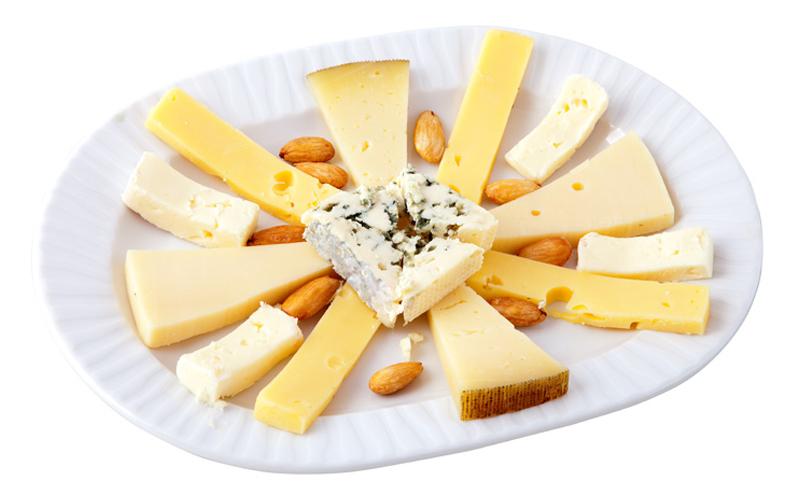 Restaurante Pirámides Ración quesos