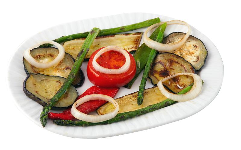 Restaurante Pirámides Ración verduras