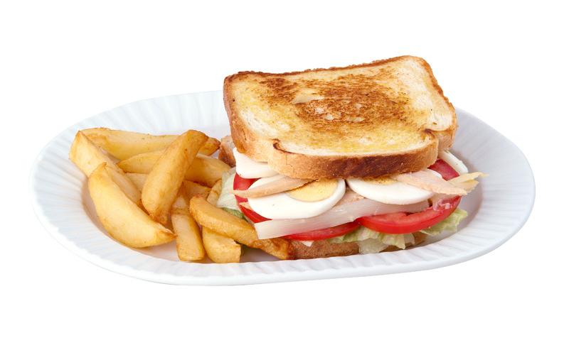 Restaurante Pirámides Sandwich vegetal