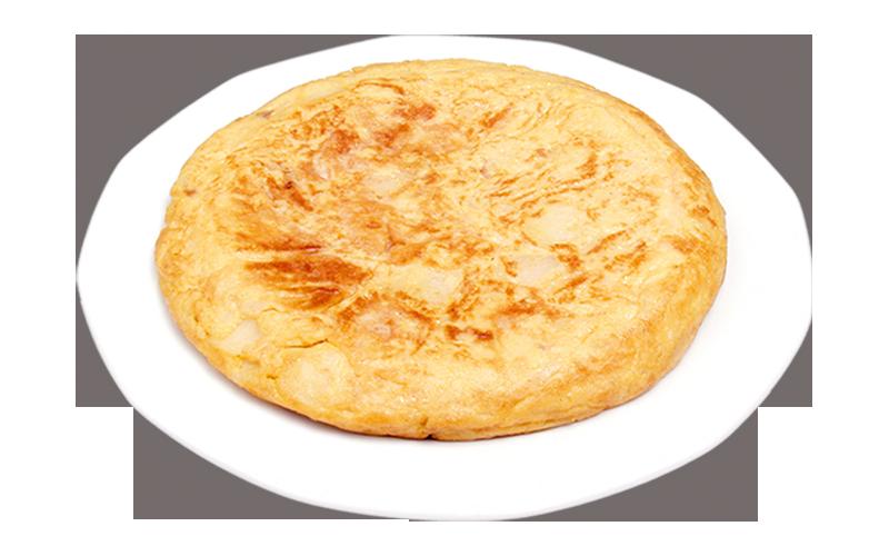 Restaurante Pirámides Tortilla patatas